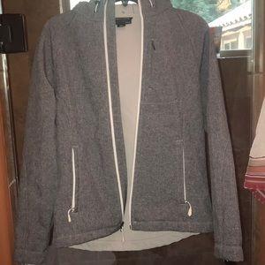 Winter coat with fleece lining